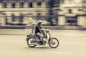 Biking to transport stock